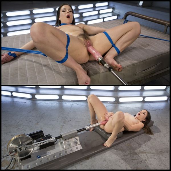 (23.11.2016) Sex Crazed Slut Gets Machine Fucked and Tied Up