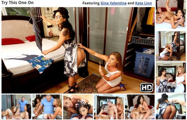 Gina Valentina & Kate Linn – Try This One On HD