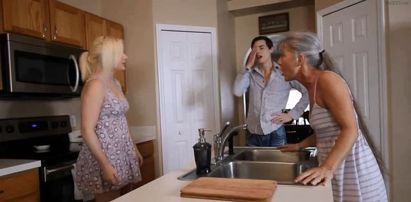 Freeze n Shut Up – Mom, Son and Daughter HD
